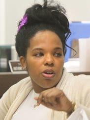 Imani Benton, mother of Tierra Morgan-Glover