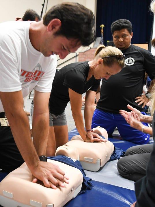 Brevard County Schools CPR Training