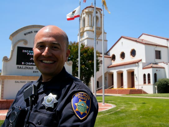 Salinas Police Officer Richard Lopez hopes to be assigned
