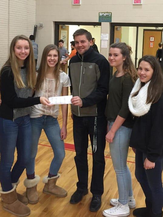 Urban Student Council Donation