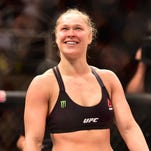 Aug 1, 2015; Rio de Janeiro, RJ, Brazil; Ronda Rousey