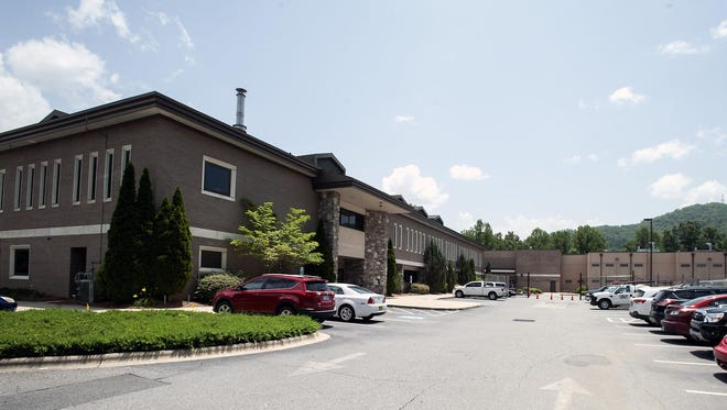 The Jackson County Justice and Administration Center holds the courts, sheriff's office and jail in Sylva.