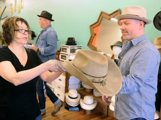Making men s hats is a perfect fit for Gigi Gaskins 0dc368af2f5