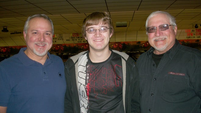 Three generations of Dusmans -- Dave, Drew and Paul -- have bowled perfect games.