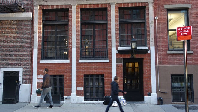 The exterior of the James Beard House in Greenwich Village, New York.