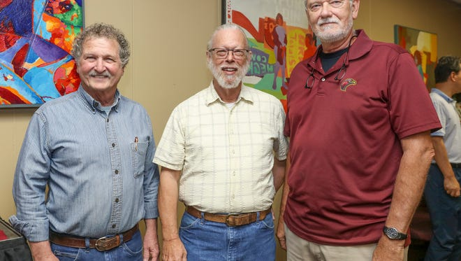 A retirement party in honor of Dr. Terry Jones, Dr. Edward 'Gene' Eller and Mr. Gary Ratcliff was held at the University of Louisiana Monroe on Wednesday, May 11.