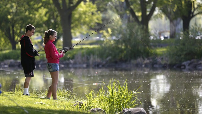 Jackie Scharfenberg, Forest Naturalist/Natural Resources educator with the Wisconsin DNR, will be presenting a fishing skills workshop June 20.