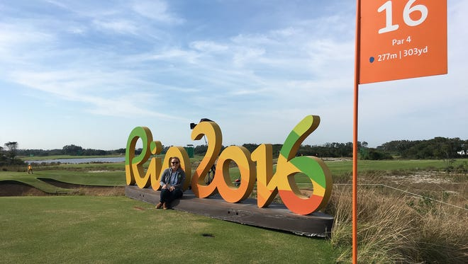 Lebanon native and current Ithaca College student Madeleine Overholt interned with NBC during its coverage of the 2016 Summer Olympic Games in Rio de Janeiro, Brazil.