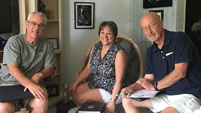 Members of the planning committee for West York Area High School Class of 1971's 45th reunion are shown here. Pictured, from left, are: Dale Shirey, Sue Strausbaugh McLaughlin and Don Reichard. The reunion will be held on Nov. 11; reservations must be made by Oct. 19.