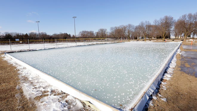 The ice rink at Lakeside Park will open Jan. 13.
