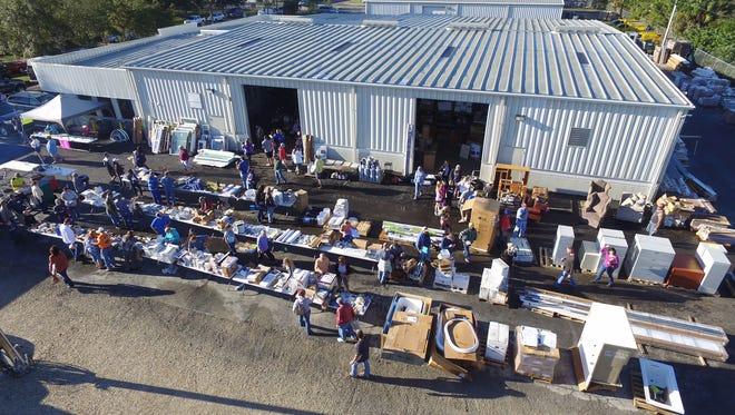 Cape Coral allows three garage sales per address per year.