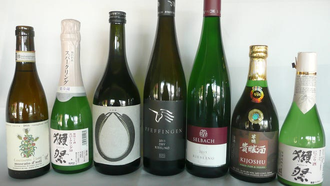 Pairing wines with sushi, sashimi or any strong Asian flavor is tricky, but it can be done.