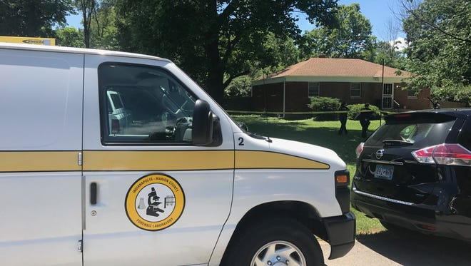 A body was found at a home on the 5300 block of East 43rd Street Tuesday afternoon.
