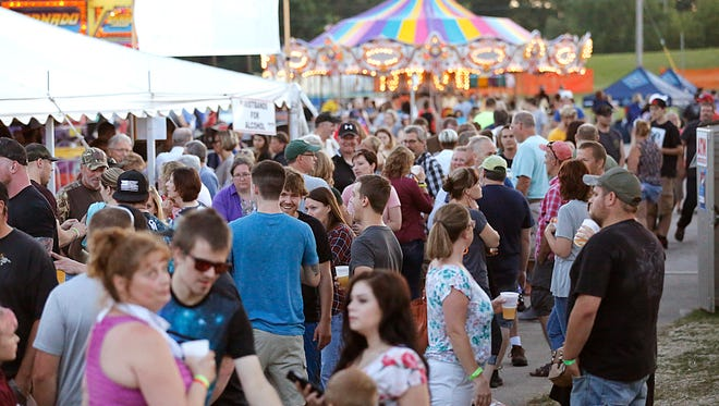Rides, music, food and fun for all ages was found at Celebrate Waupun Saturday July 1, 2017. Doug Raflik/USA TODAY NETWORK-Wisconsin