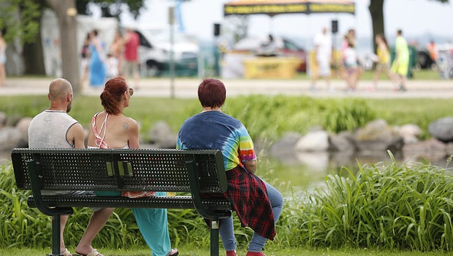 Lakeside Park is a summer go-to spot in Fond du Lac, along the shores of Lake Winnebago.A comprehensive master park plan includes $5.5 million in proposed enhancements, through 2022.  Doug Raflik/USA TODAY NETWORK-Wisconsin