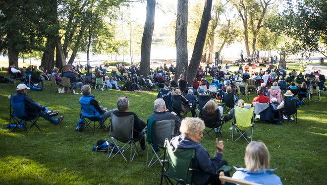 Saturday's show is the second in Giant Springs State Park's 2017 Summer Concert Series.
