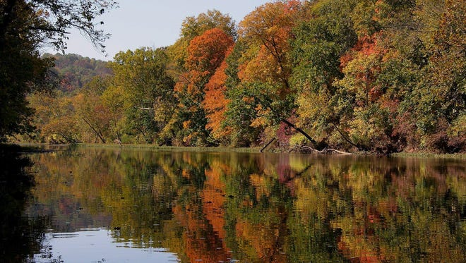 An autumn float on the James River, besides being a chance to see fall foliage, can result in sightings of eagles, coyotes, deer and lots of fish.