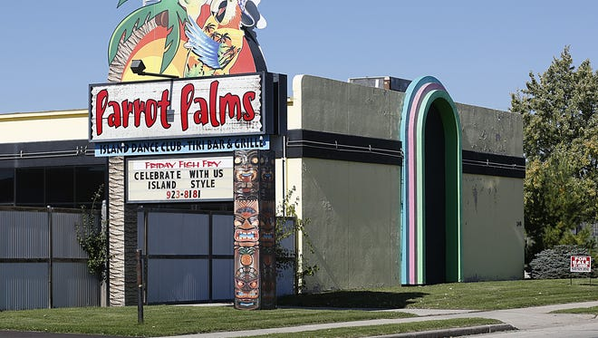 Parrot Palms building for sale at 248 north Hickory Street in Fond du Lac. October 18, 2017. Doug Raflik/USA TODAY NETWORK-Wisconsin