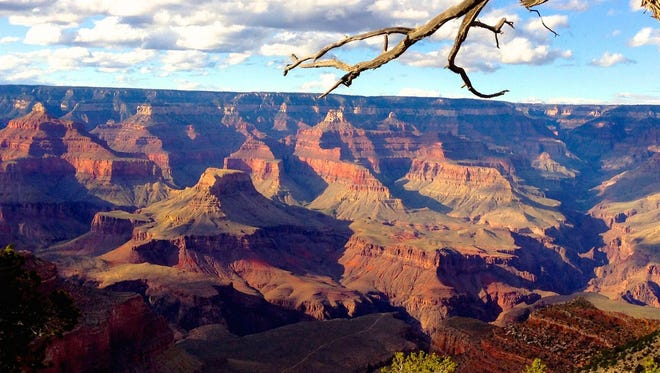 Contrary to what some tour operators in Las Vegas might imply, the Grand Canyon exists entirely within Arizona.