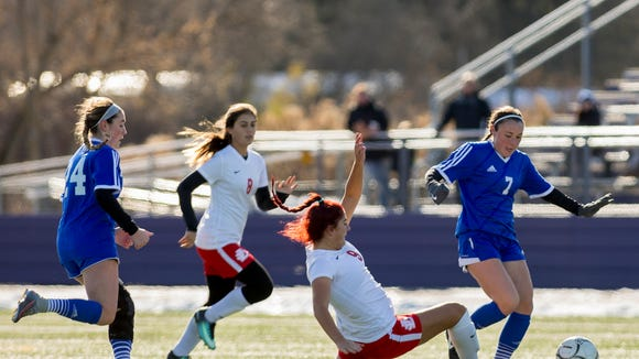 Pearl River defeated Jamesville-DeWitt 1-0 Saturday to advance to the state finals in Girls Class A Soccer in Cortland.