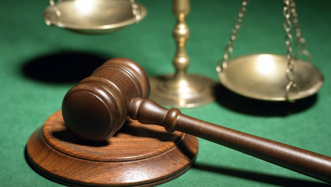 Gavel and scales
