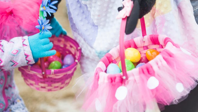 The Annual Easter Egg Hunt will be held Saturday, April 3, at Gibson Park