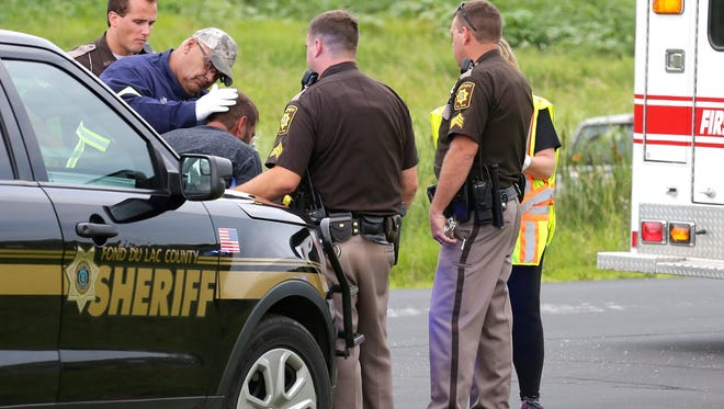 A man is in custody following a high speed chase Friday evening that ended in a crash and Prairie and Hickory Roads in the town of Byron. Fond du Lac Sheriff's Office says alcohol is believed to be a factor in the crash. The man was treated for minor injuries at St. Agnes Hospital.