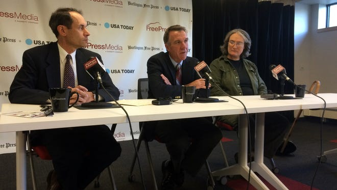 Vermont lieutenant governor candidates debate Tuesday at the Burlington Free Press.