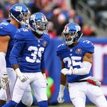 Chykie Brown (39) is returning to the Giants.