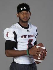 DB All-Area Keyon Helton, West Florida High School