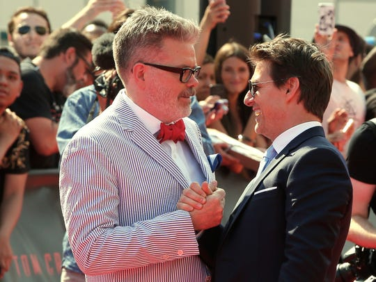 """""""Keeping the recipe secret would be obscenely selfish,"""" said McQuarrie. """"People looking for a career in film should know that anyone can do this."""" (AP Photo/Thibault Camus)"""