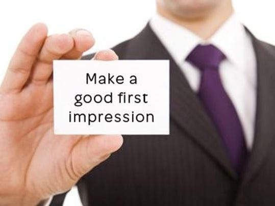 First Impressions Last First Impression at an