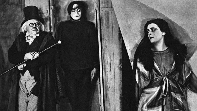 """The 1920 silent horror classic """"The Cabinet of Dr. Caligari"""" kicks off the new Vintage Milwaukee movie series at Brew City MKE, 275 W. Wisconsin Ave., on Wednesday."""