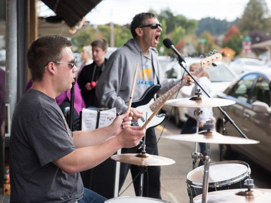 Silverton Sidewalk Shindig: 7th annual event that makes the streets of historic downtown Silverton come alive with over 100 hours of live music, noon to 10 p.m. Oct. 6, downtown Silverton. Free.