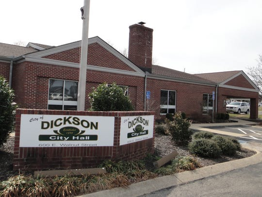 Dickson City Hall.