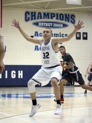 Alex Marquez of Silver High provides some good defense