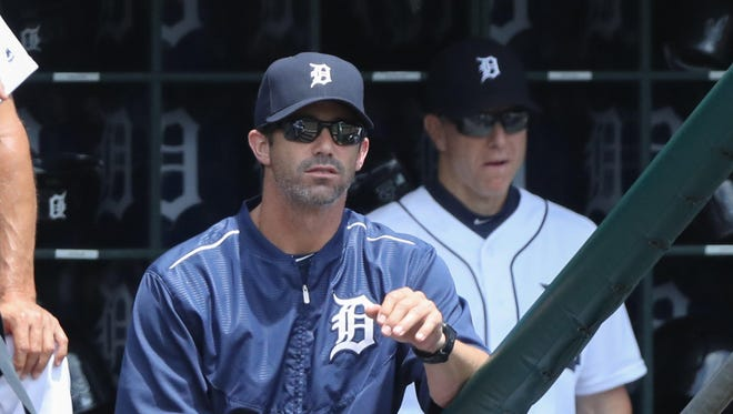 Manager Brad Ausmus thought GM Dave Dombrowski's trade-deadline sell-off last season was a mistake.