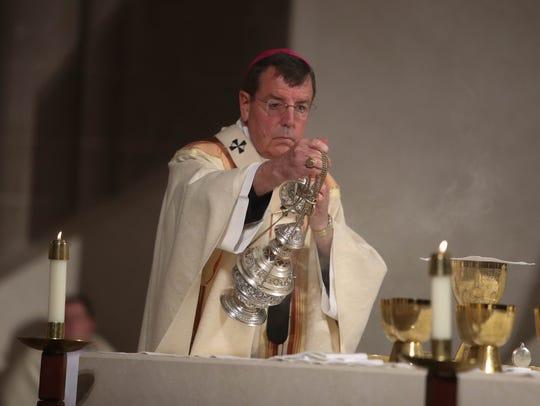 Archbishop of Detroit Allen H. Vigneron leads the Mass
