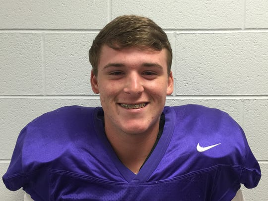 Class 2A Back: Seth Price, Watertown