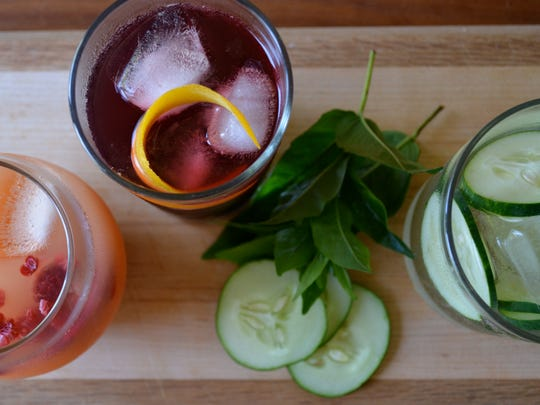 Ashley English's recipes for lavender lemonade, summer sangria and cucumber water will quench your summer thirst.