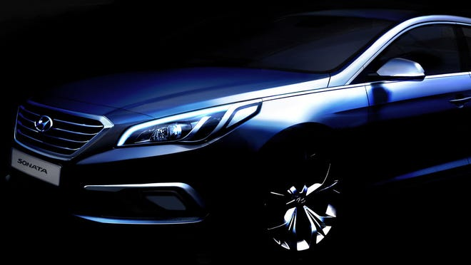 Hyundai showed the new Sonata this month in South Korea. The U.S. version will be shown for the first time in April during the New York International Auto Show.