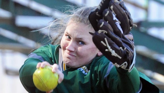 Josie Harris and Reynolds travel to Sun Valley for Tuesday's third round of the NCHSAA 3-A softball playoffs.