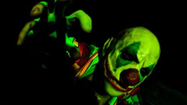 Scary clowns can be found in many haunted attractions.