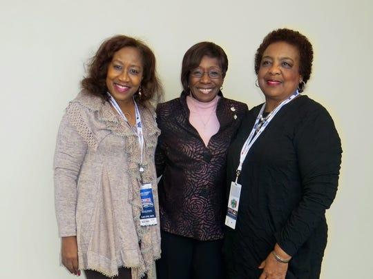 Barbara Bennett, Shreveport Mayor Ollie Tyler,  Ruth