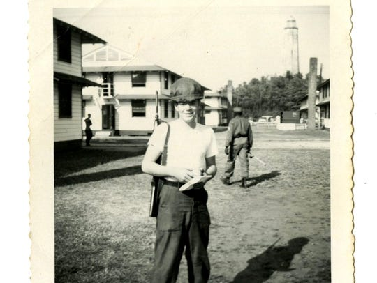A snapshot of Allan Botsford while he served in the