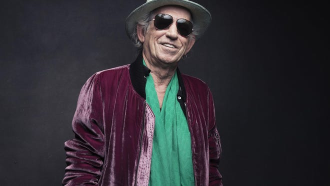 Keith Richards of the Rolling Stones poses for a portrait in 2016 in New York. On Friday, Richards is releasing a limited edition box set of his 1988 concert at the Hollywood Palladium taken during his first solo tour.