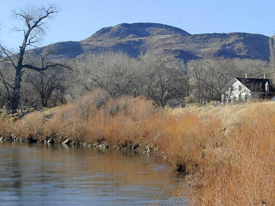 Western water rights, including the Carson River, pictured