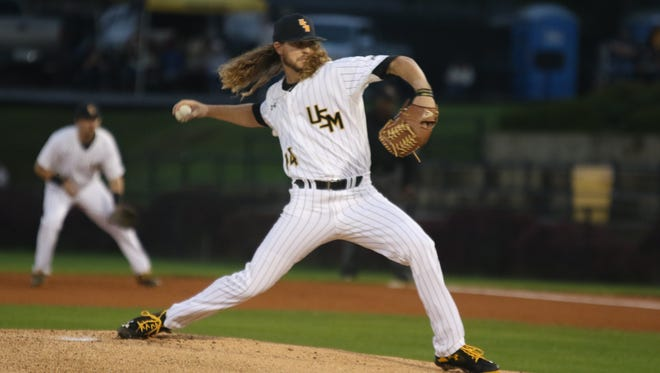 Southern Miss' Cord Cockrell is expected to start on the mound for the Golden Eagles when they host Western Kentucky on Friday.