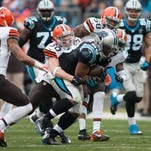 Follow all of the action between the Browns and Panthers with our in-game blog.