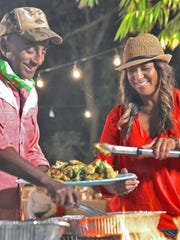 "Chef Marcus Samuelsson and Chef Thia celebrate Haitian food in Miami as part of his new PBS show, ""No Passport Required,"" premiering Tuesday. The show visits pockets of ethnic cuisine in six different cities."